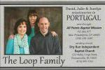 Loops, David, Julie & Jocelyn (in Missionaries)